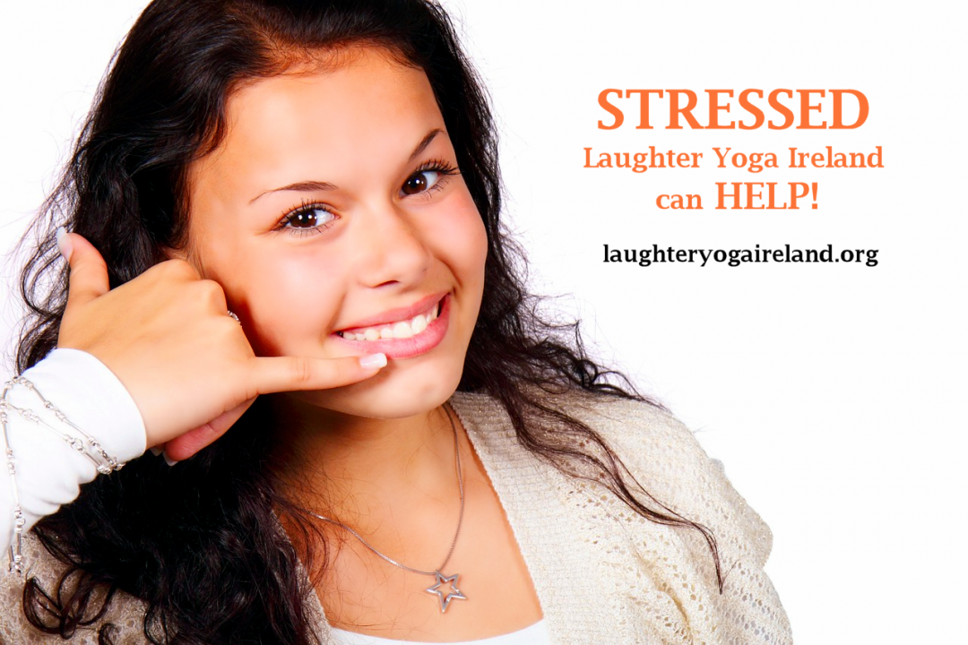 Contact Laughter Yoga Ireland Today For Help With Combating Stress