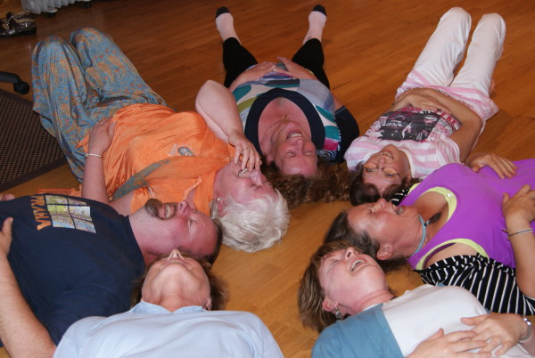 Laughter Yoga Ireland Group Therapy